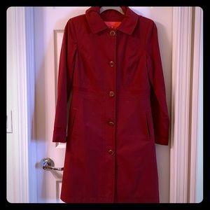 Ivanka Trump Red pea coat